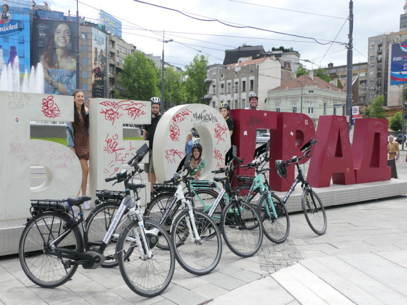 Belgrado Highlights Fietstour