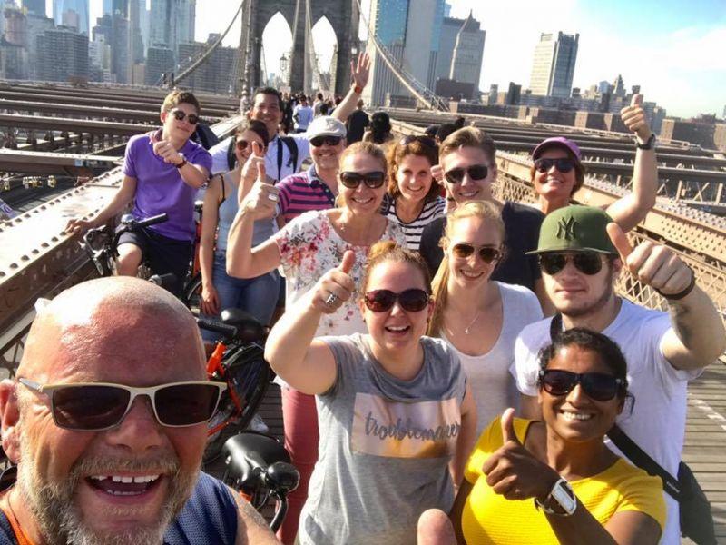 Manhattan & Brooklyn Privé Fietstour