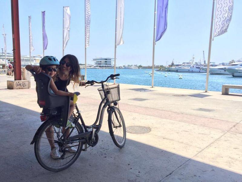 Valencia Kinder Fahrradtour