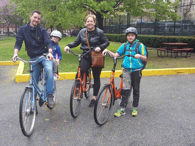 New York by Bike with kids