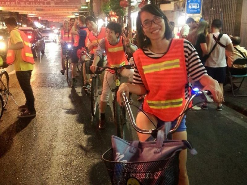 Bangkok Fietstocht By Night