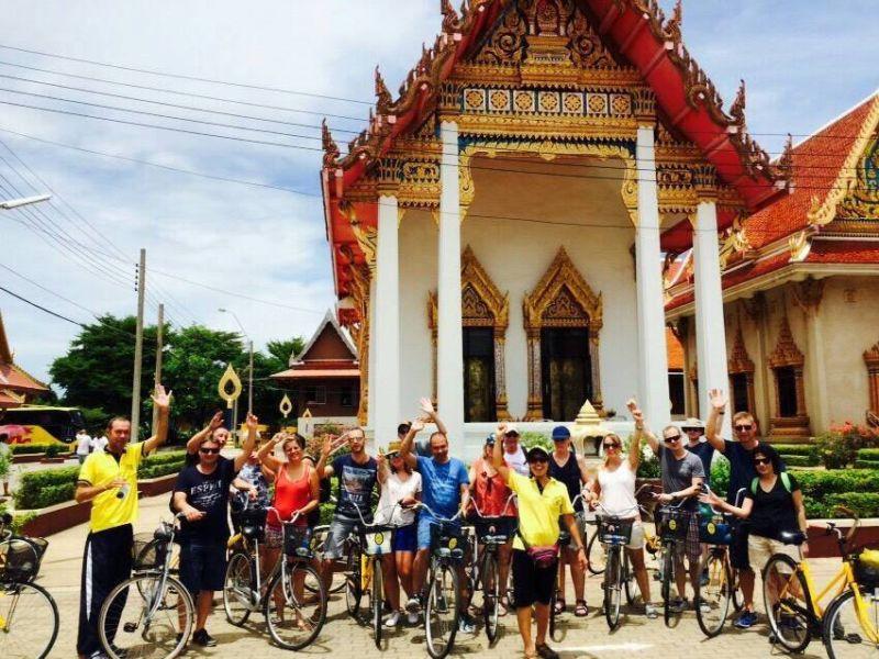 Bangkok highlights tour en bici