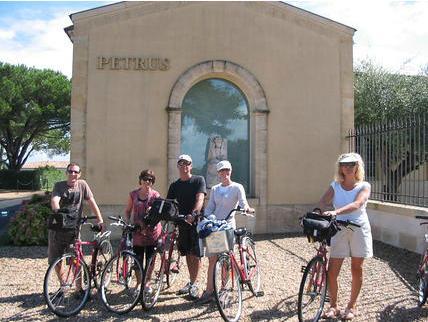 Bordeaux St. Emilion Bike Tour