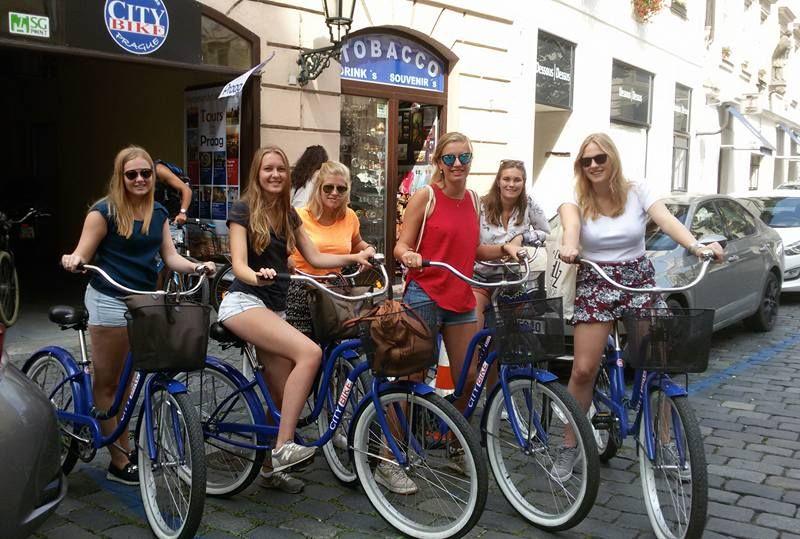 Fahrradverleih Prag