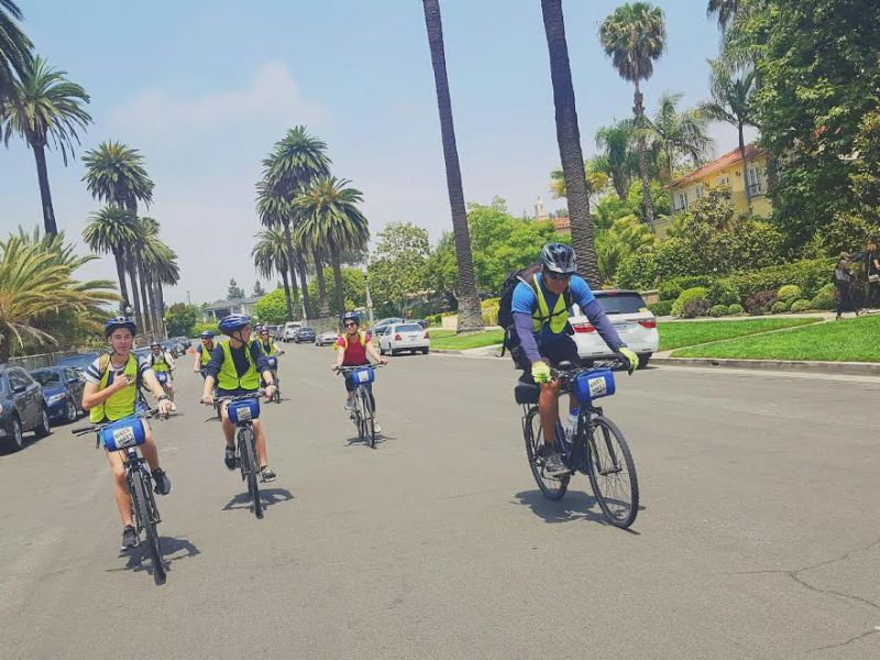 LA in a Day fietstour