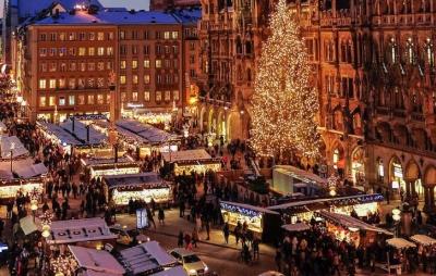 München Weihnachtsmarkt Spaziergang