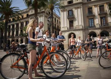 Studentenfietstour Barcelona