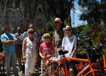 Bike Tour Barcelona with Kids
