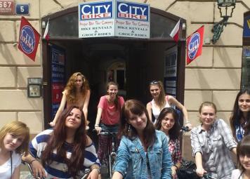 Praag Studenten Fietstour
