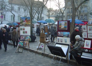 Paris Montmartre Walk