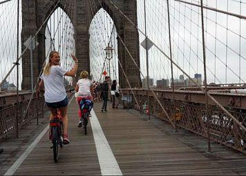 Manhattan & Brooklyn Fietstocht