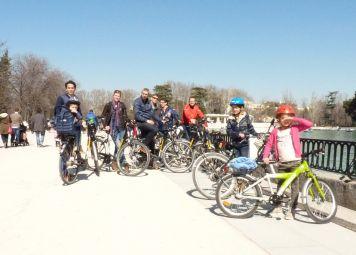 Madrid with Kids Bike Tour
