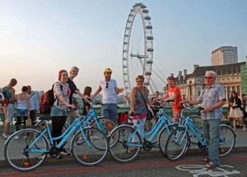Londres West End en bicicleta