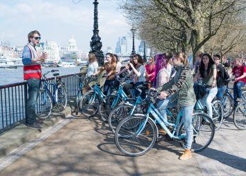Studentenfietstour Londen