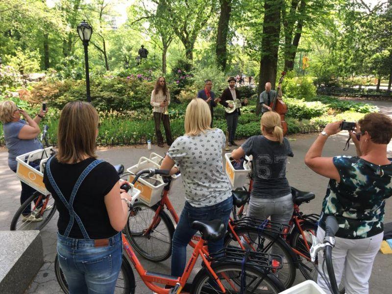 Fietsen door Central Park Privégids