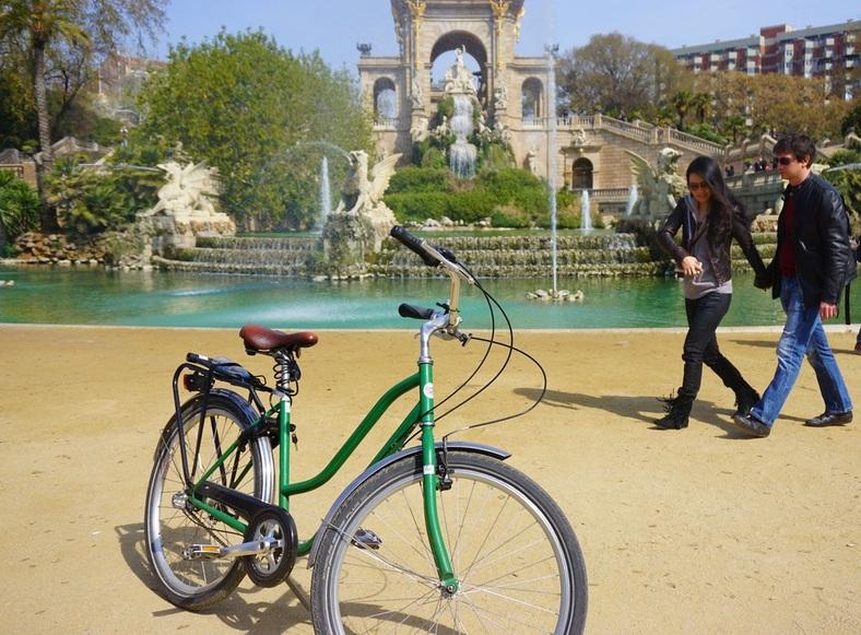 Fietsen huren in Barcelona