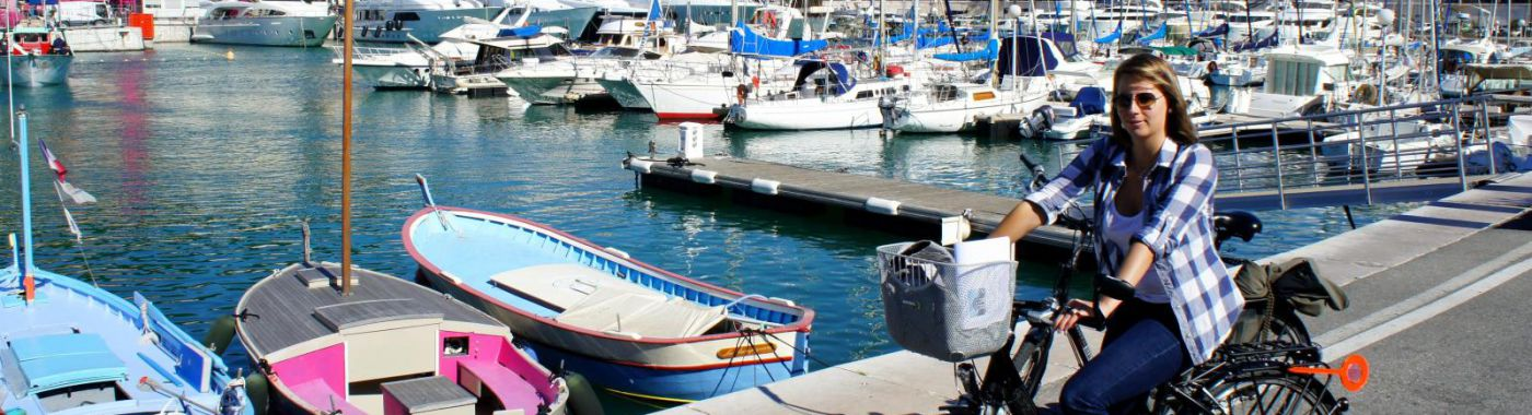 Fietsen in Nice