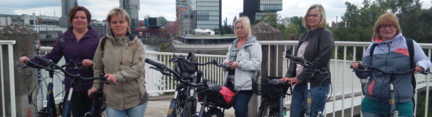 Cycling in Düsseldorf