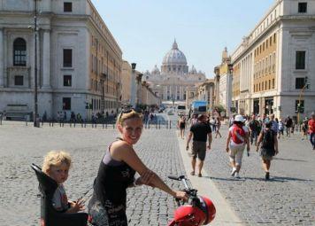 Fietsen huren in Rome