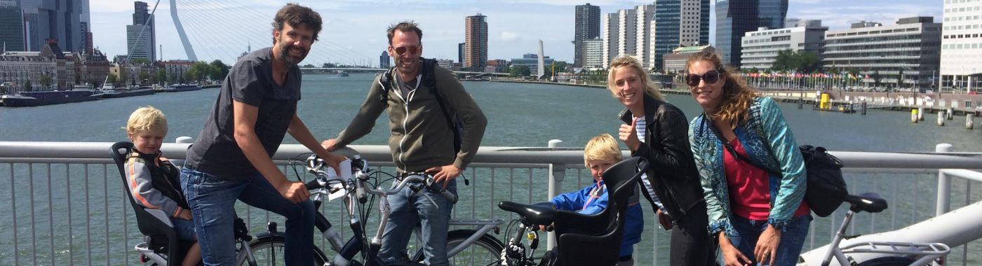 Cycling in Rotterdam