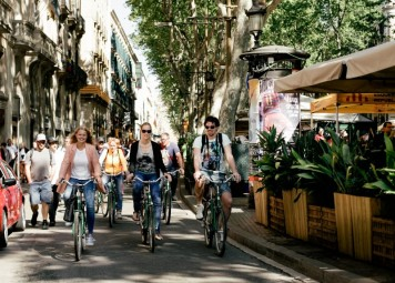 Barcelona Dagtour per Fiets