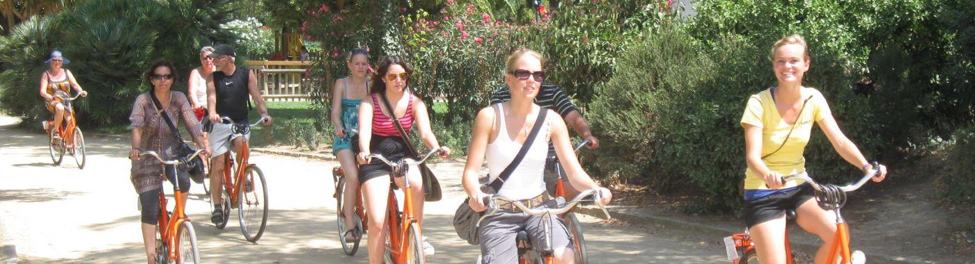 Barcelona Fahrradtour für Studenten