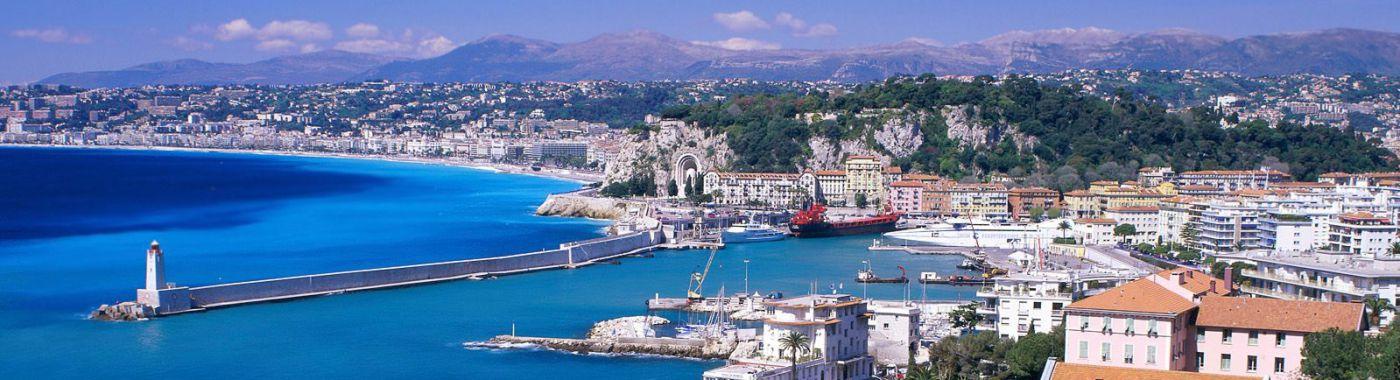 Fietsverhuur in Nice