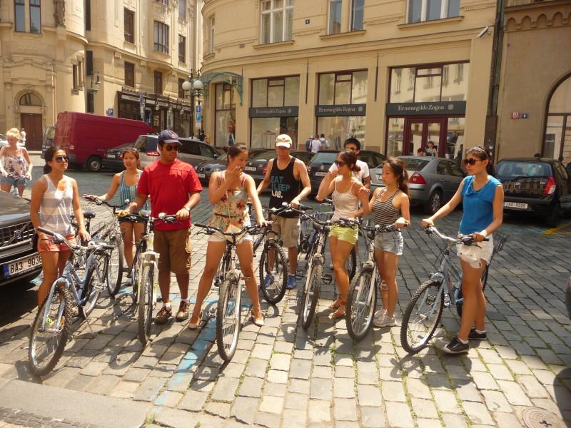 Praag E-bike Highlights fietsroute