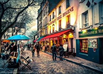 Parijs Montmartre Wandeling