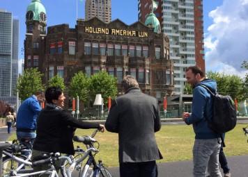 Rotterdam Fietstocht met Privegids