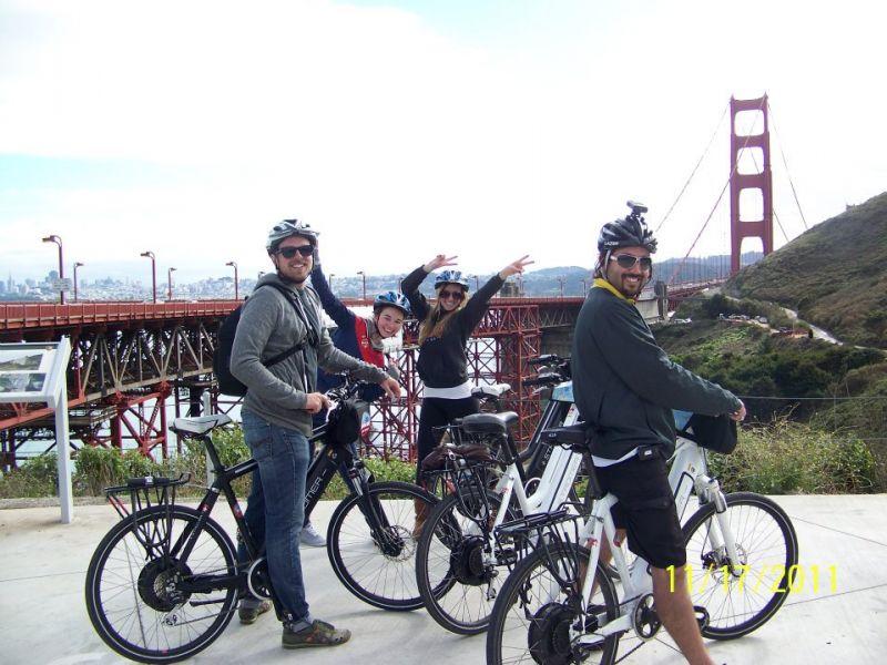 Fietsverhuur in San Francisco