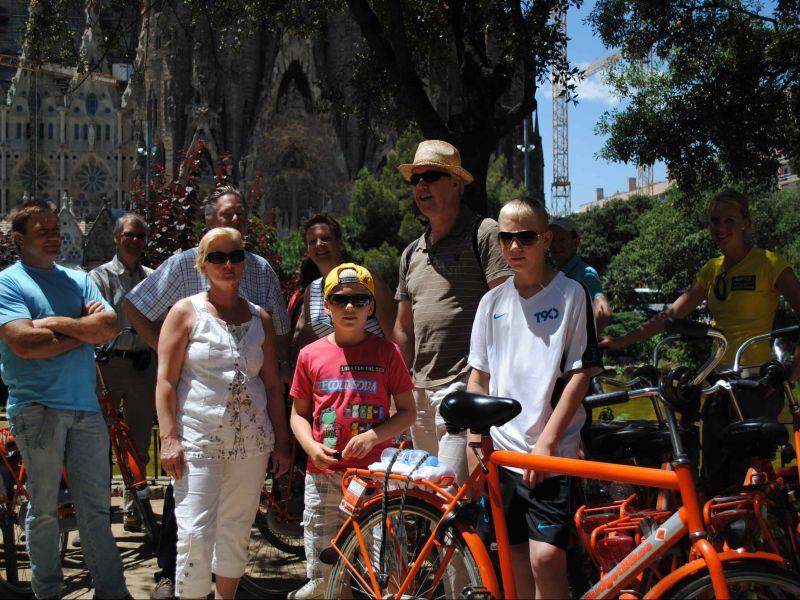 Fahrradtour Barcelona mit Kindern