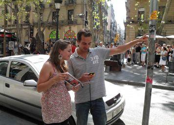 Barcelona GPS-ervaring