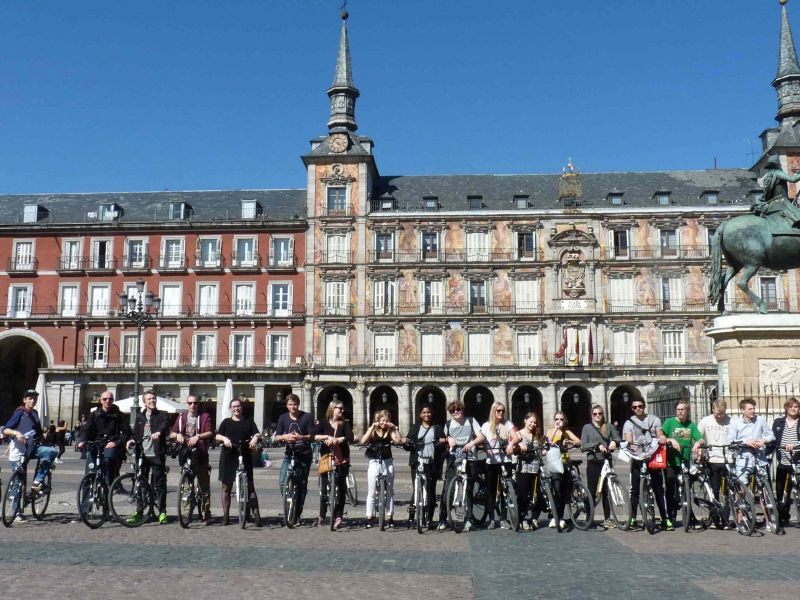 Madrid Student Bike Tour