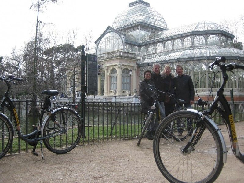 Madrid Bike Tour + Bike Rental