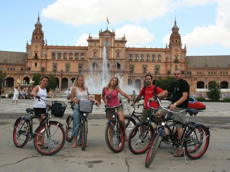 Sevilla Fietstour en Fietshuur