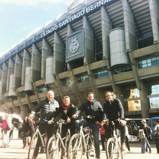 Real Madrid Bike Tour