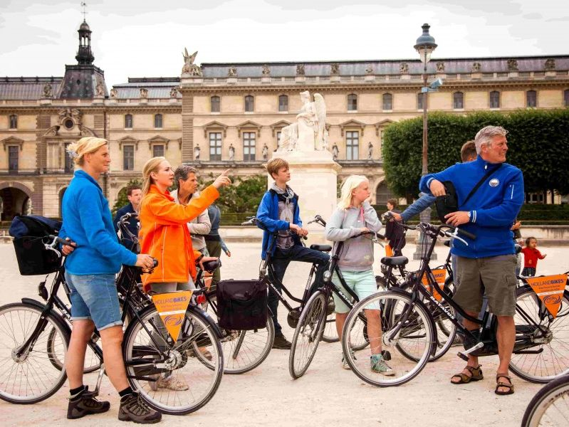 Paris Bike Tour + Bike Rental Combo