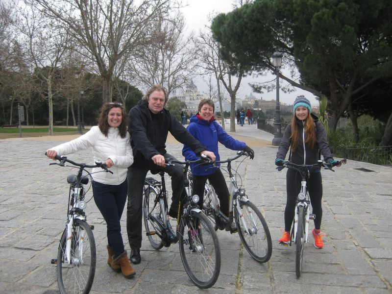 Madrid with Kids Bike Tour
