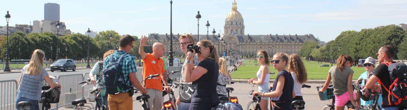 Paris Highlights Fahrradtour