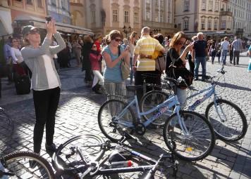 Fietsverhuur in Praag