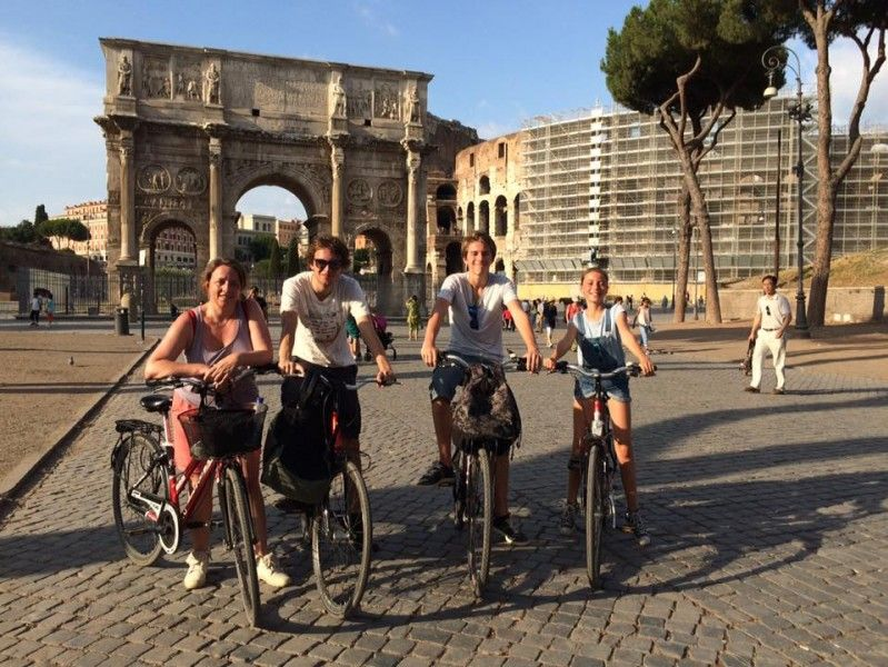 Rome Panoramic Bike Tour