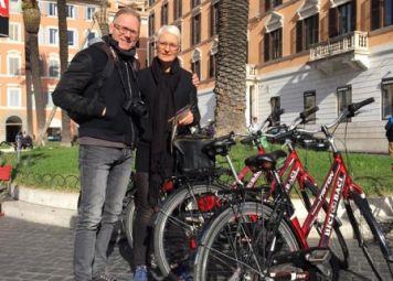 Cykelleje i Rom