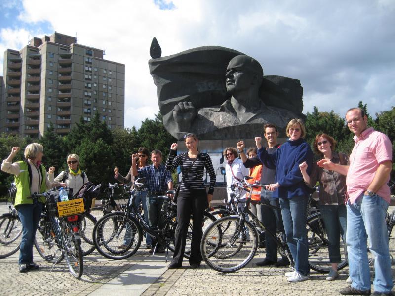 Berlijn Fietstocht langs de muur