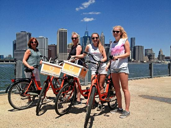 Manhattan & Brooklyn Fietstocht
