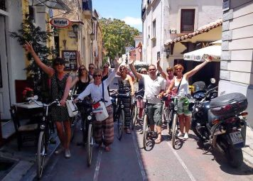 Athens Private Guided Bike Tour