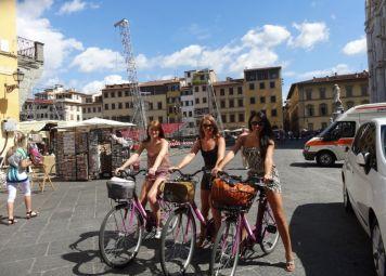 Studentenfietstour Florence