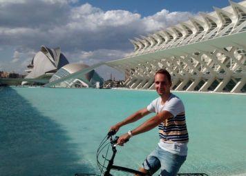 Fietsverhuur in Valencia