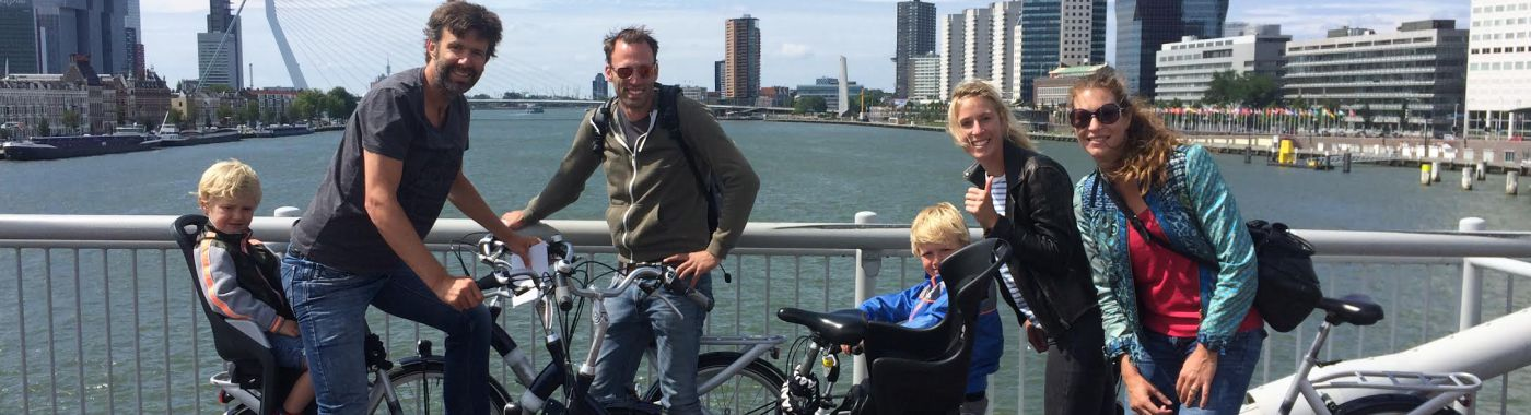 Rotterdam sightseeing tours with Baja Bikes