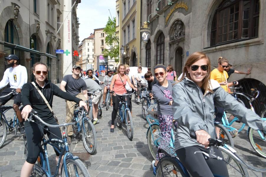 Stadtfuhrung Munchen Entdecken Sie Die Stadt Mit Dem Fahrrad